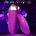 Alta Qualidade Sem Fio Vibradores Multispeed Silicone 10 Frequência Ovo Sex toys For Women Feminino Masturbação