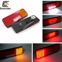 Eonstime 2PCS 12V 24V 92LED Trailer Truck LED Tail Light Lamp Yacht Car Trailer Taillight Reversing