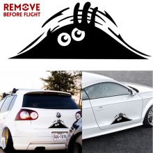 Car Stickers Funny Peeking Monster Auto Car Walls Windows Sticker Graphic Vinyl Cars Decals Car Styling Accessories