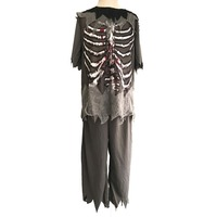 Boys Zombie Costume Kids Halloween Costumes Child Scary Bloody Skeleton Party Fancy Dress Outfits Clothing