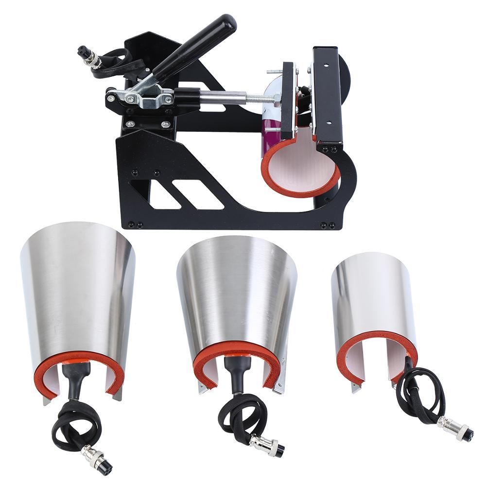 8 in 1 warmte persmachine sublimatie machine warmte overdracht machine voor T Shirt mok hoed plaat cap 12x15 inch - 6