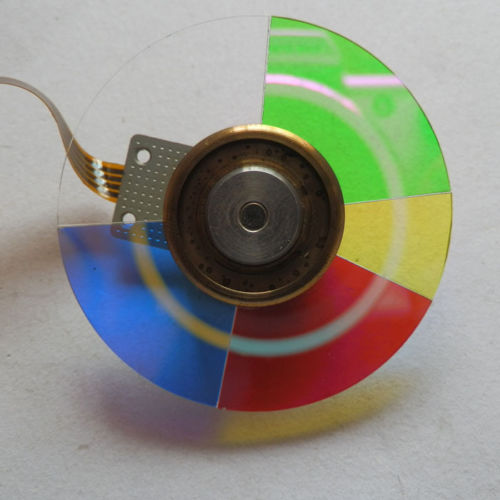 Used Original Projector Color Wheel For Vivitek D508 Projector free shipping new original projector color wheel for vivitek d742hdc color wheel 1pcs