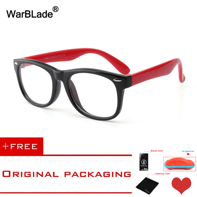 Warblade Kids Optical Glasses Frame Child Boy Girl Myopia
