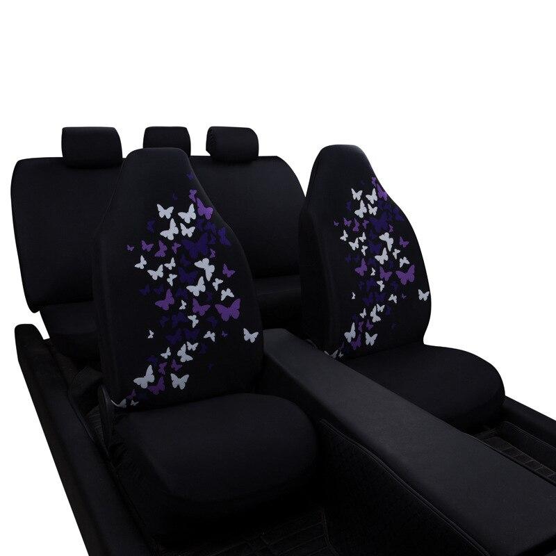 100% петлей Ткань автомобиля Чехлы для сидений мотоциклов Universal подходят для большинства автомобилей Мода на сиденья узор чехол сиденья прот...