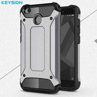 Keysion Case For Xiaomi Redmi 4X 4 X Hard Plastic Anti Knock Back Cover For Xiaomi