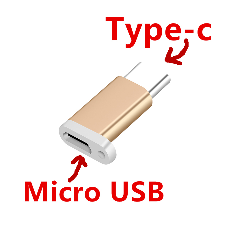 FFFAS Type-c Cable Adapter Key Ring Cellphone Jak Micro To Type C Small Converter For Macbook Xiaomi 6 Huawei P10 Samsung Letv