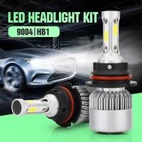 Auto 9004 HB1 Auto Koplamp Kit Auto Head Lamp 6000 K 20000LM 200 W Auto COB Led Verlichting Lamp Super Heldere High Power Led koplamp