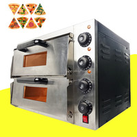Multifunctional 220V Electric Pizza Oven Cake roasted Chicken Pizza Cooker Commercial Use Kitchen Baking Machine