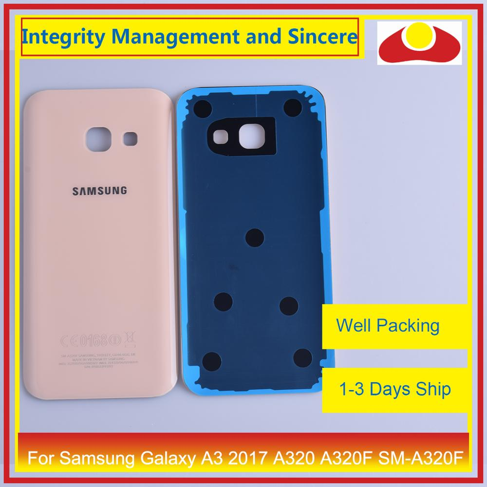 Image 4 - Original For Samsung Galaxy A3 2017 A320 A320F SM A320F Housing Battery Door Rear Back Cover Case Chassis Shell-in Mobile Phone Housings & Frames from Cellphones & Telecommunications