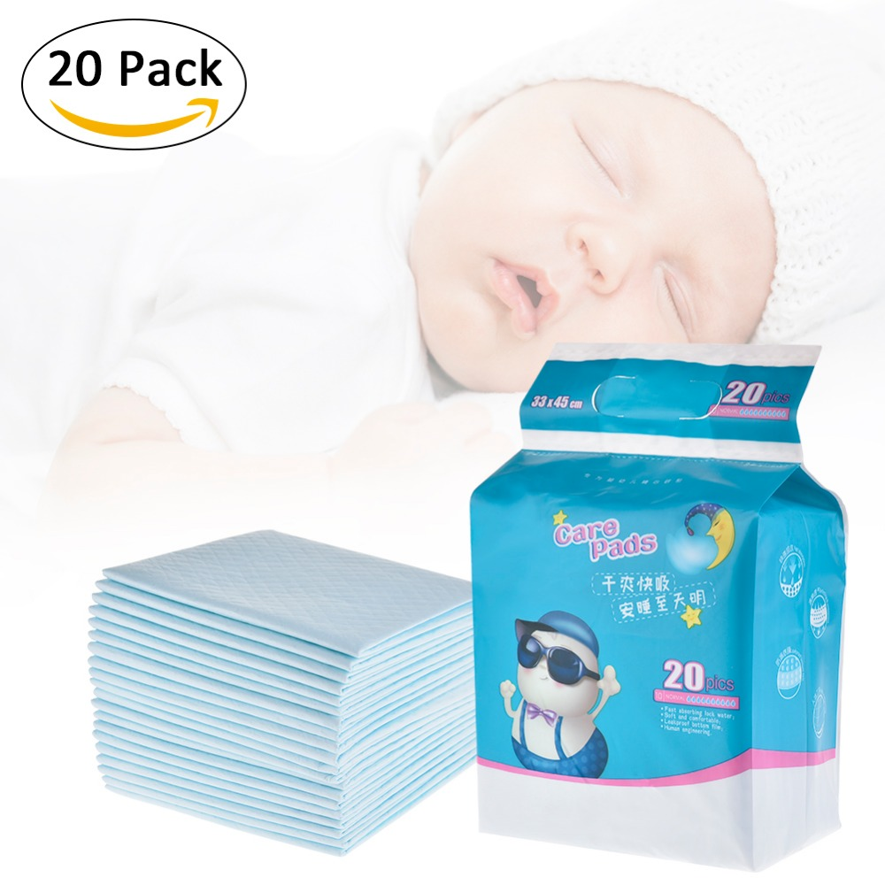 Toddler Mattress Vs Baby Mattress Us 9 32 30 Off 20pcs Infant Portable Diaper Pad Waterproof Breathable Newborn Children Disposable Mattress Menstrual Pad Baby Supplies In Changing