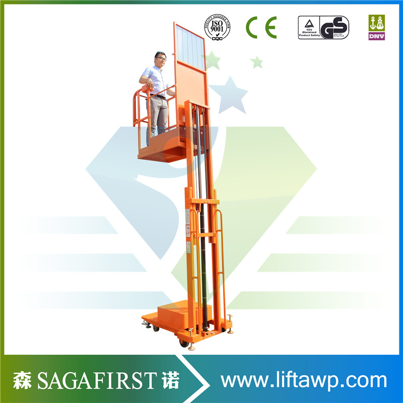 Semi Electric Aerial Order Picker From China To Global