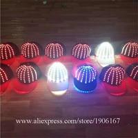 5 PCS Fashion LED Light Up Baseball Caps Led Luminous Party Hat Led Camping Travel Sport Headwear For DJ KTV Bar Stage Show