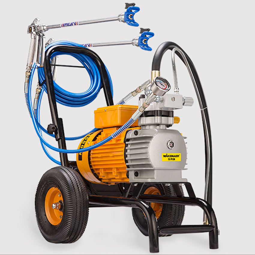 990 High pressure Airless Paint Sprayer 220V 3000W 8L/min With 2 Spray Guns Electric Airless Painting Machine 3000N/S Spraying