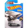 1: 64 Hot Wheels Time Machine Metal Cars Назад В Будущее фильм модель автомобиля Классический сплав автомобиль DeLorean DMC-12 (делореан дмк-12) дети Toys car подарок