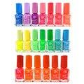 10 Botellas BK Esmalte de Uñas 20 Colores opcionales de Color Caramelo de Neón Fluorescente No tóxico Del Clavo Del gel de Uñas Barniz de Laca pintura de Uñas