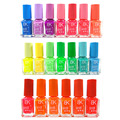 10 Bottles BK Nail Polish 20 Colors optional Candy Color Neon Fluorescent Non-toxic Nail gel Nail Varnish Lacquer Paint Nail