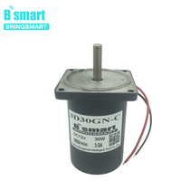 Bringsmart 3D30GN CC 1800rpm 24V DC Permanent Magnet Motor 30W Gear Electric Motor Adjustable Speed Engine CCW/CW High Torque