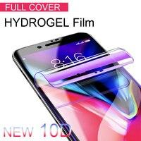 Película de hidrogel 10D para Huawei Nova 2 3 4 Lite, Protector de pantalla suave para P9 lite mini Nova 2i 3i P Smart Plus 2019