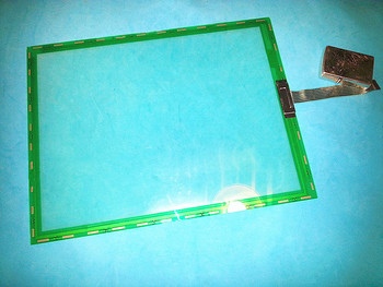 7WRIES touchscreen for N010-0551-T742 touchpad  touch screen panel glass 100% in good working