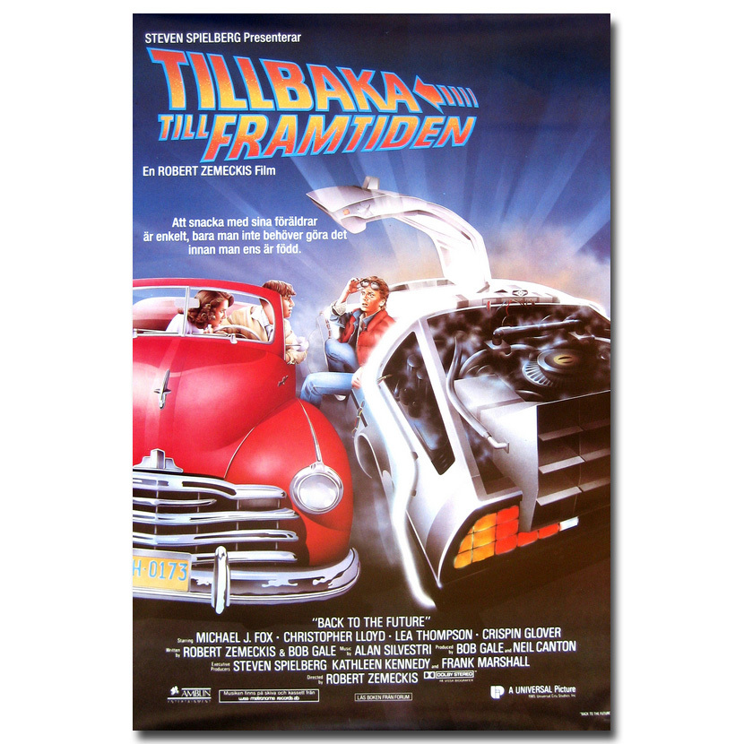 Back To The Future Classic Movie Silk Poster Bedroom Decor Picture 13x20 24x36 1