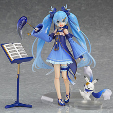 FIGMA EX-037 Hatsune Miku Twinkle Snow Ver Style Anime 15CM Boxed Action Figure Toys