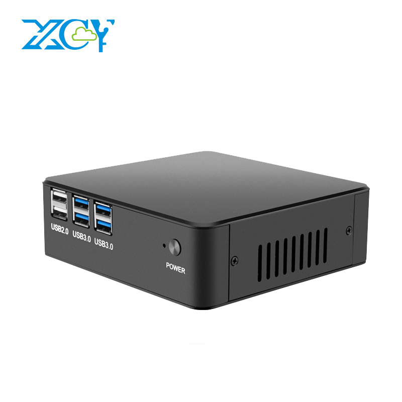 XCY X35 Desktop Mini PC Windows 10 Intel Core i7 6500U i5 6200U i3 61000U DDR4 RAM mSATA SSD Support 4K UHD HDMI VGA 300M WiFi xcy i5 4210y embedded computer high quality dual core 1 6ghz support mic higxcycetralized technology design 2g ram 8g ssd