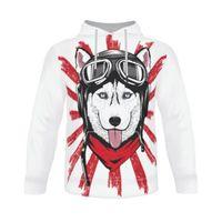 Siberian Husky Dog Hoodie Sweatshirt Men 3d Hot Game Letter Print Long Sleeve Clothes Male 2019 Streetwear Cool Hoodies Boys