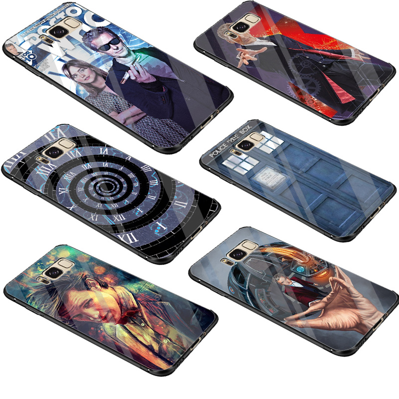 Expressive Desxz Glass Soft Tardis Box Doctor Who Case Cover For Samsung Galaxy S7 Edge S8 S9 Plus S10 Note 8 9 Superior Performance Phone Bags & Cases Cellphones & Telecommunications