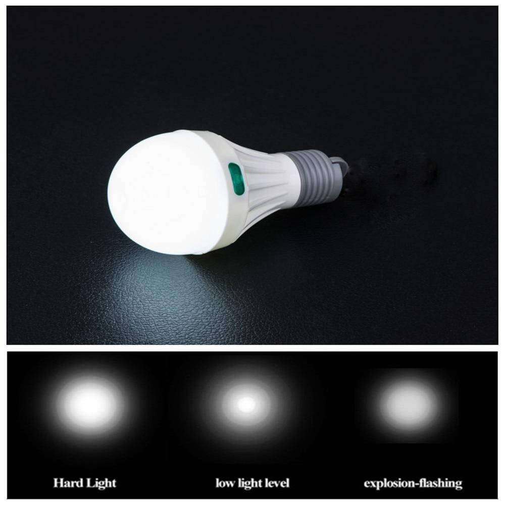 Portable Bulb Lantern Ultra Bright Camping SMD Жарықдиодты - Портативті жарықтандыру - фото 5