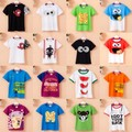 [Bosudhsou] Brand New Fashion Kids Baby Boy Clothing Children Clothes Cotton T shirts  Kids Short Sleeve 359