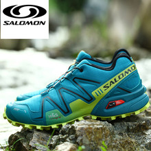 the best attitude fd4ba 0ee73 Salomon Speed Cross 3 CS III Outdoor Male Sports Shoes mens running shoes  zapatillas hombre deportiva