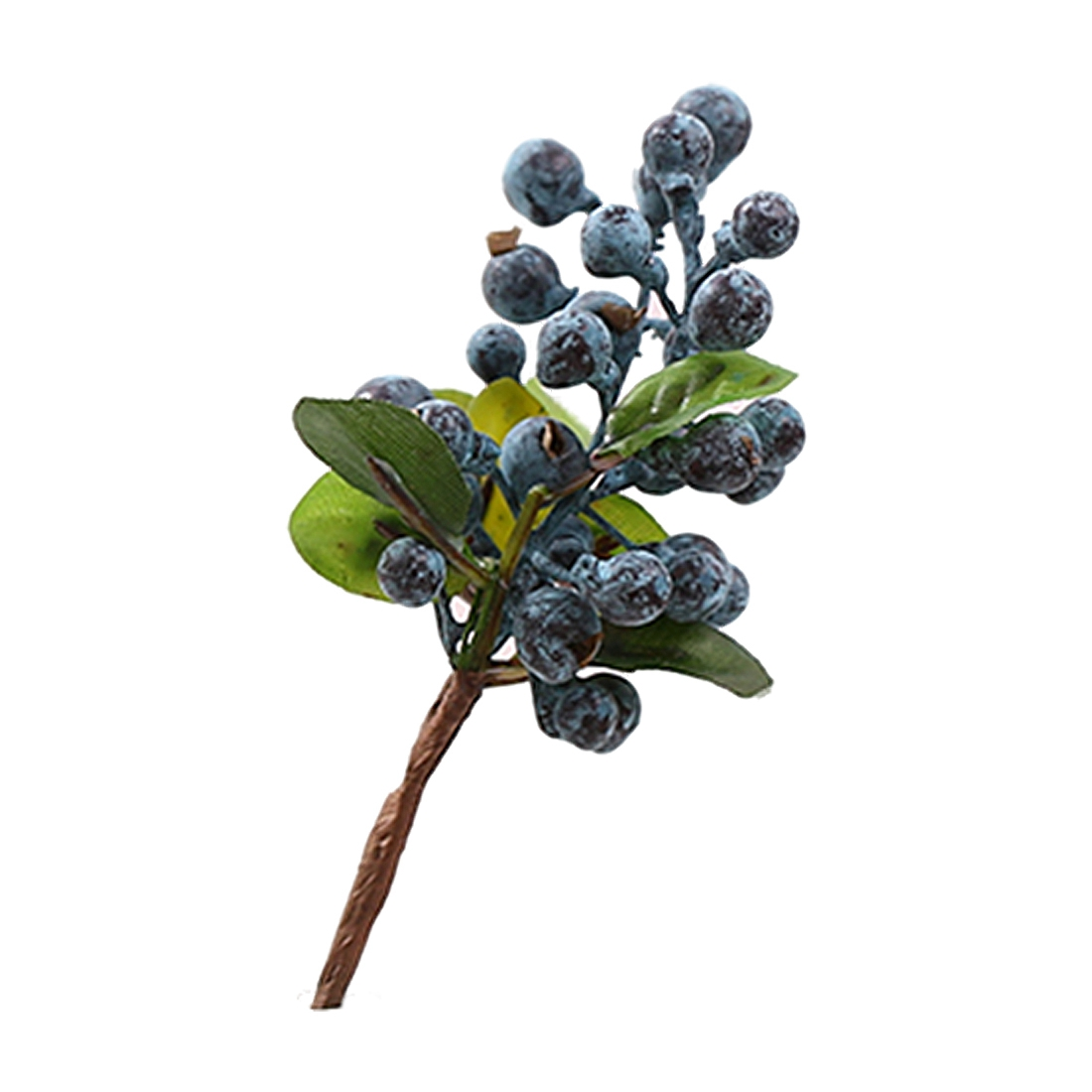 10pcs Decorative Blueberry Fruit Berry Artificial Flower Silk