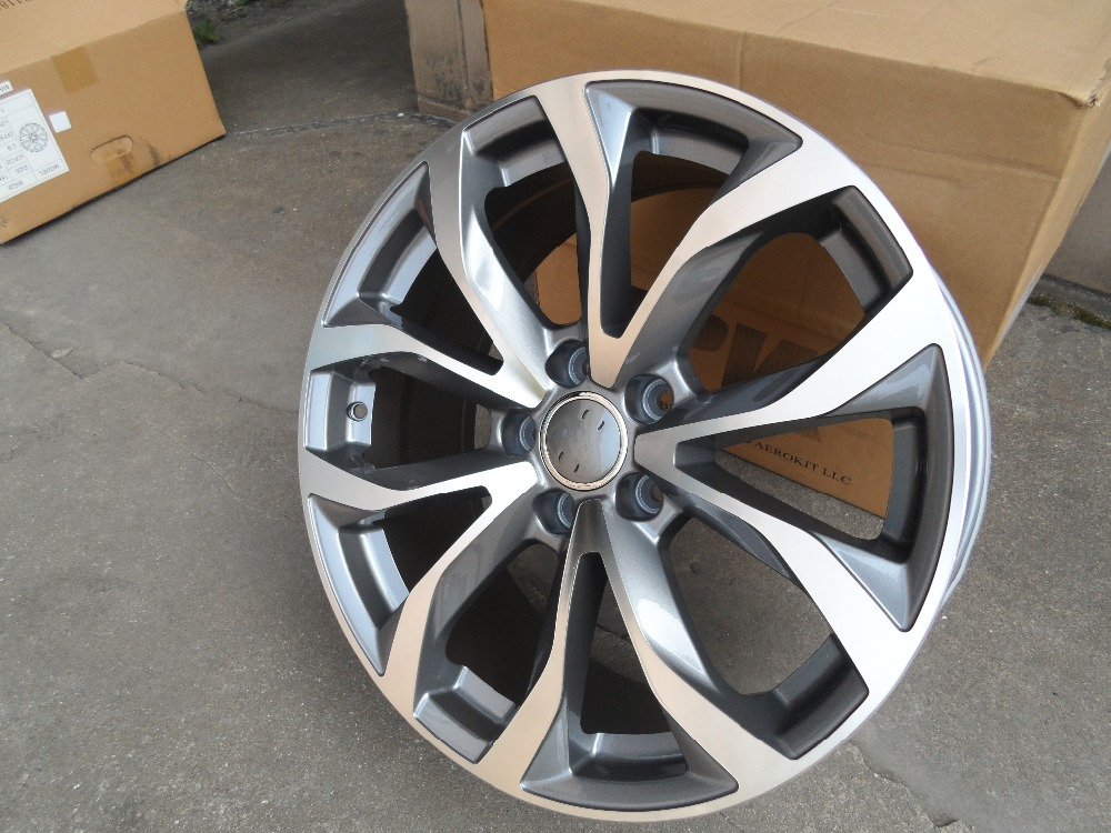 все цены на 4 New 18x8.0 Rims wheels ET 35mm CB 66.6mm Alloy Wheel Rims fits Mercedes-Benz S-CLASS SsangYong Chairman W625 онлайн