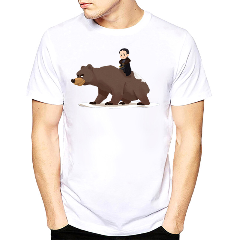 957a56035e9 Summer style Stark short sleeve Game of Thrones beer Men T-shirt casual men  tshirt Tops Tees euro size O neck t-shirts s-xxxl
