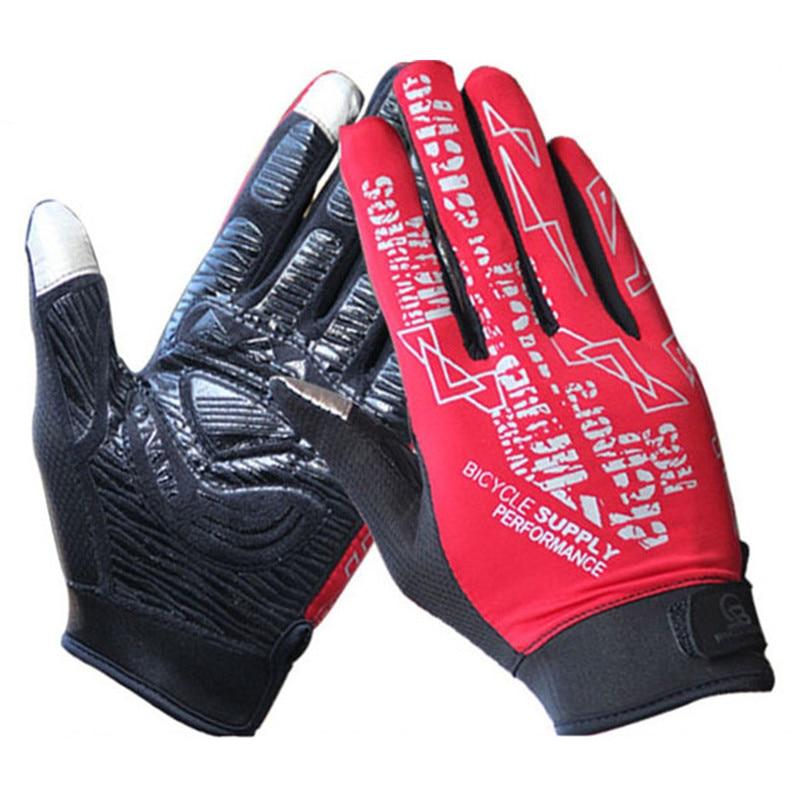 Poletne kolesarske rokavice Kolesarske rokavice s polnimi prsti, pohodništvo, fitnes, športne rokavice za kolesa lahko zaslon na dotik za moške ženske