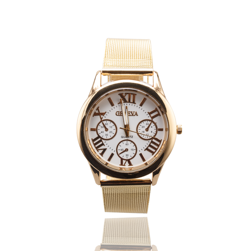 2019 Fashion Brand Gold Stainless Steel Automatic Watches Luxury Ladies Men's  Casual Watch Quartz Wristwatch Relogio