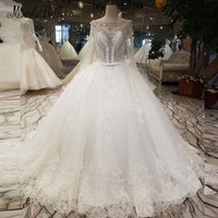 Modabelle Crystal Lace White Wedding Dress Bride Vestido De Novia Princess Sexy Backless Luxury Beaded Long