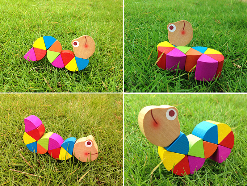 Wooden Insect Toy for Children 25