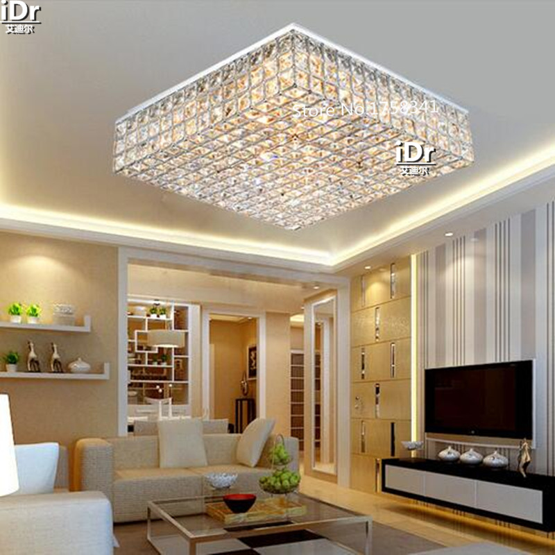 Europe Lamps Crystal Lighting Master Bedroom Room Headlights Minimalist  Atmosphere Ceiling Lights Bedroom Lights In Ceiling Lights From Lights U0026  Lighting On ...