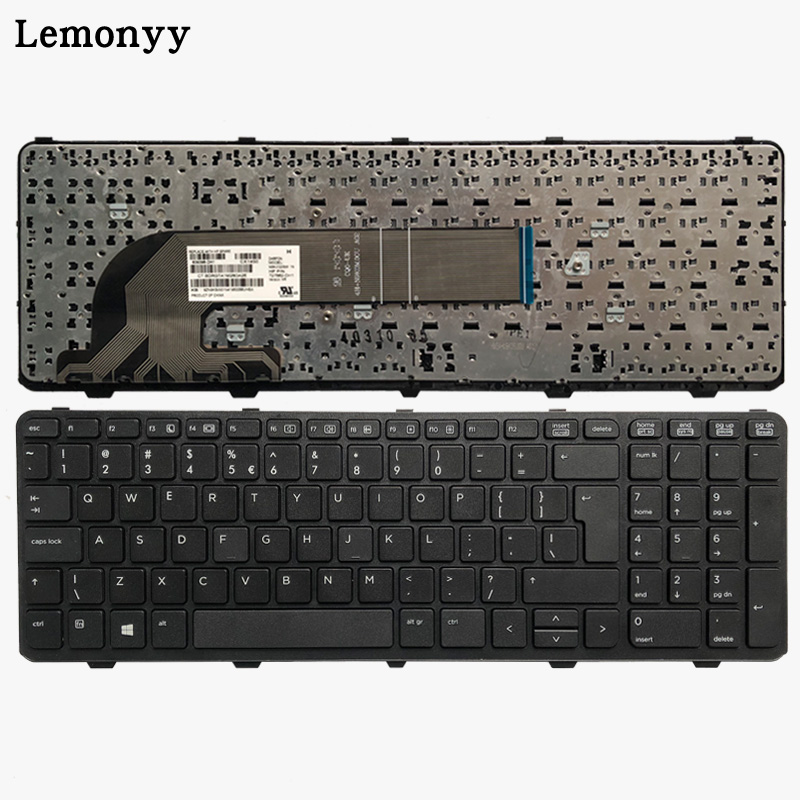 UI Laptop Keyboard For HP PROBOOK 450 G0 450 G1 450 G2 455 G1 455 G2 470 G0 470 G1 470 G2 Keyboard With Frame
