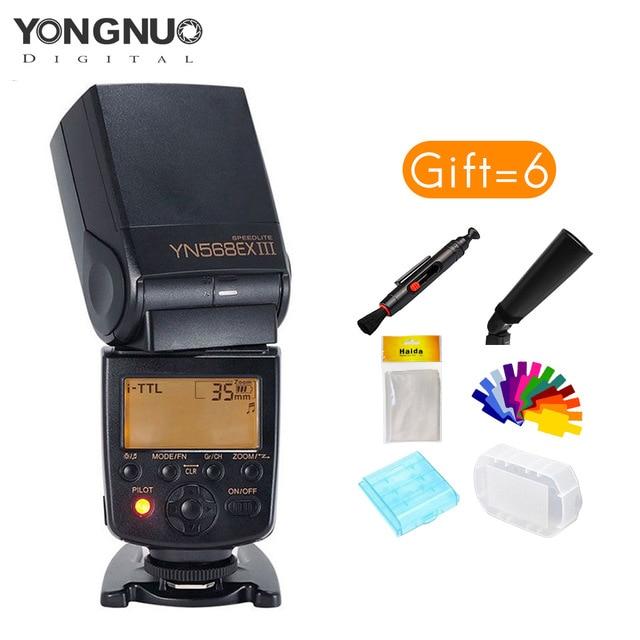 Yongnuo YN568EX III 2.4G TTL haute vitesse synchronisation Flash sans fil Speedlite pour Nikon D750 D810 D3400 D3200 D5600 D5300 D7100 D7200