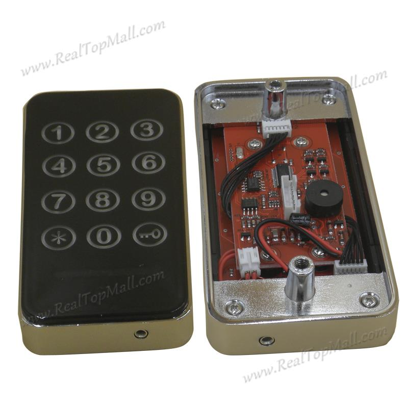 touchable font b electronic b font keyless electric password cabinet font b door b font font