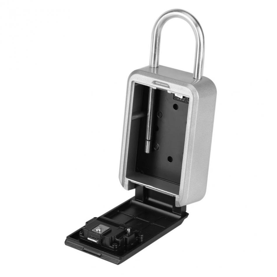 4 Digit Storage Key Box Lock Safe Security Outdoor Storage