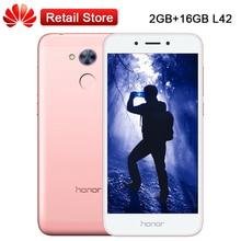 "Mondiale Huawei Honor 6A Jouer 2 GB RAM 16 GB ROM L42 5.0 ""Octa Core Snapdragon 430 Android 7.0 D'empreintes Digitales Téléphone Dual SIM 13MP"