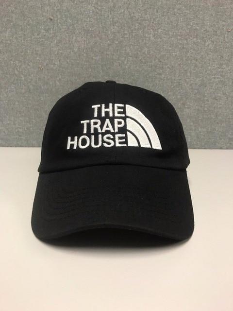 5acc4d8ebe3 2018 NEW TRAP HOUSE Hat (slide buckle) fashion style rap hip hop dad cap  Cotton baseball caps