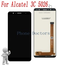 """6.0"""" For Alcatel 5026A Full LCD Display + Touch Screen Digitizer Assembly For Alcatel 3C 5026 5026A 5026D"""