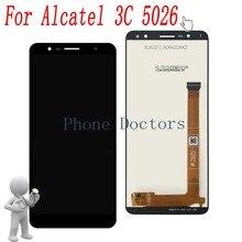 """6.0 """"pour Alcatel 5026A écran LCD complet + écran tactile numériseur assemblée pour Alcatel 3C 5026 5026A 5026D"""