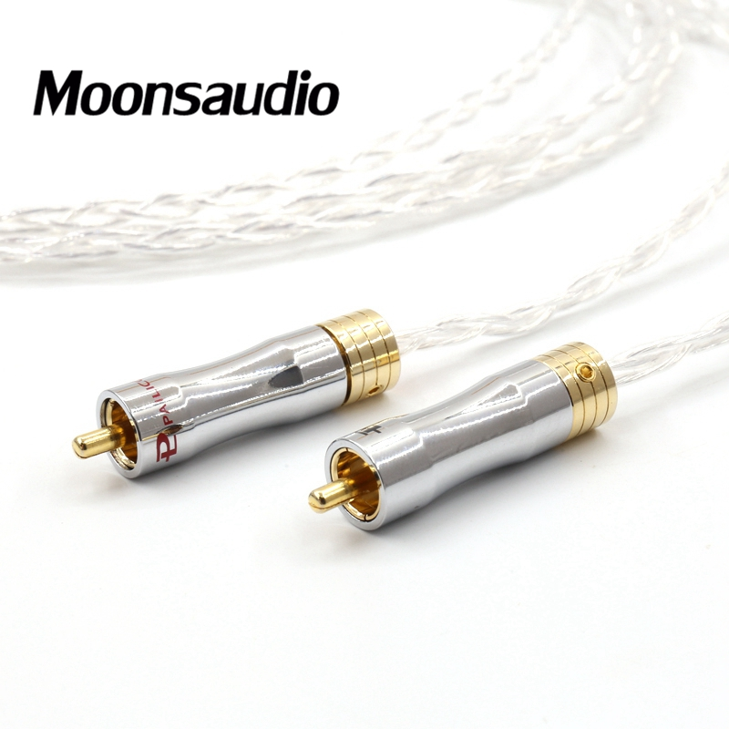 Image 5 - Piar 8N OCC silver plated audio interconnect cable with Gold plated RCA plug connectorinterconnect cableocc cableinterconnect rca cables -