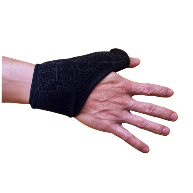 Quality Black Breathable Wrist Support Brace with Thumb