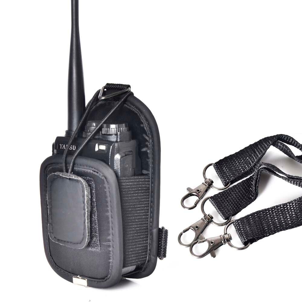 imágenes para PT-02 carry case bolsa de Nylon portátil soporte para WouXun, Baofeng, Hytera, Puxing walkie talkie radio de dos vías